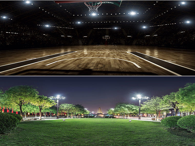 Flood Light Application places