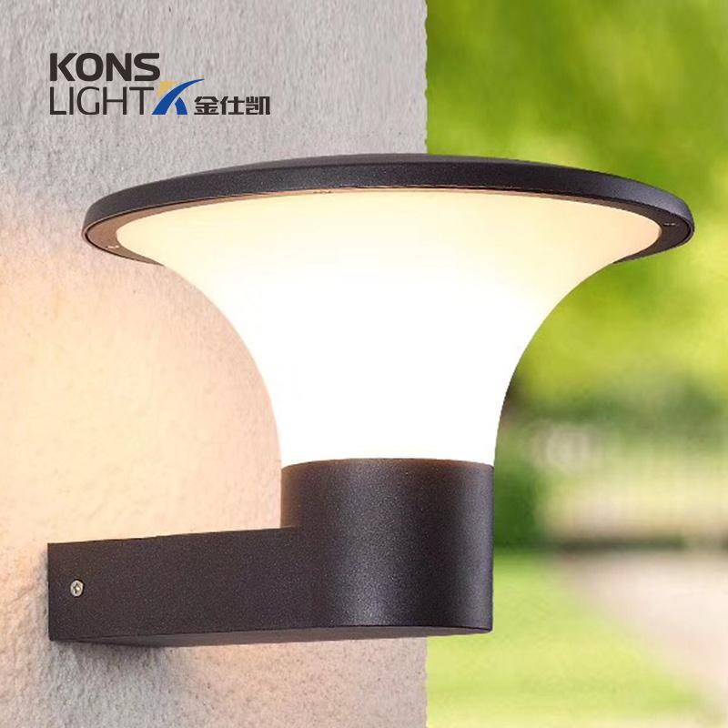 Kons 6W bothway LED Wall Light COB LED Chip Aluminum & Tempered Glass Wall light image1