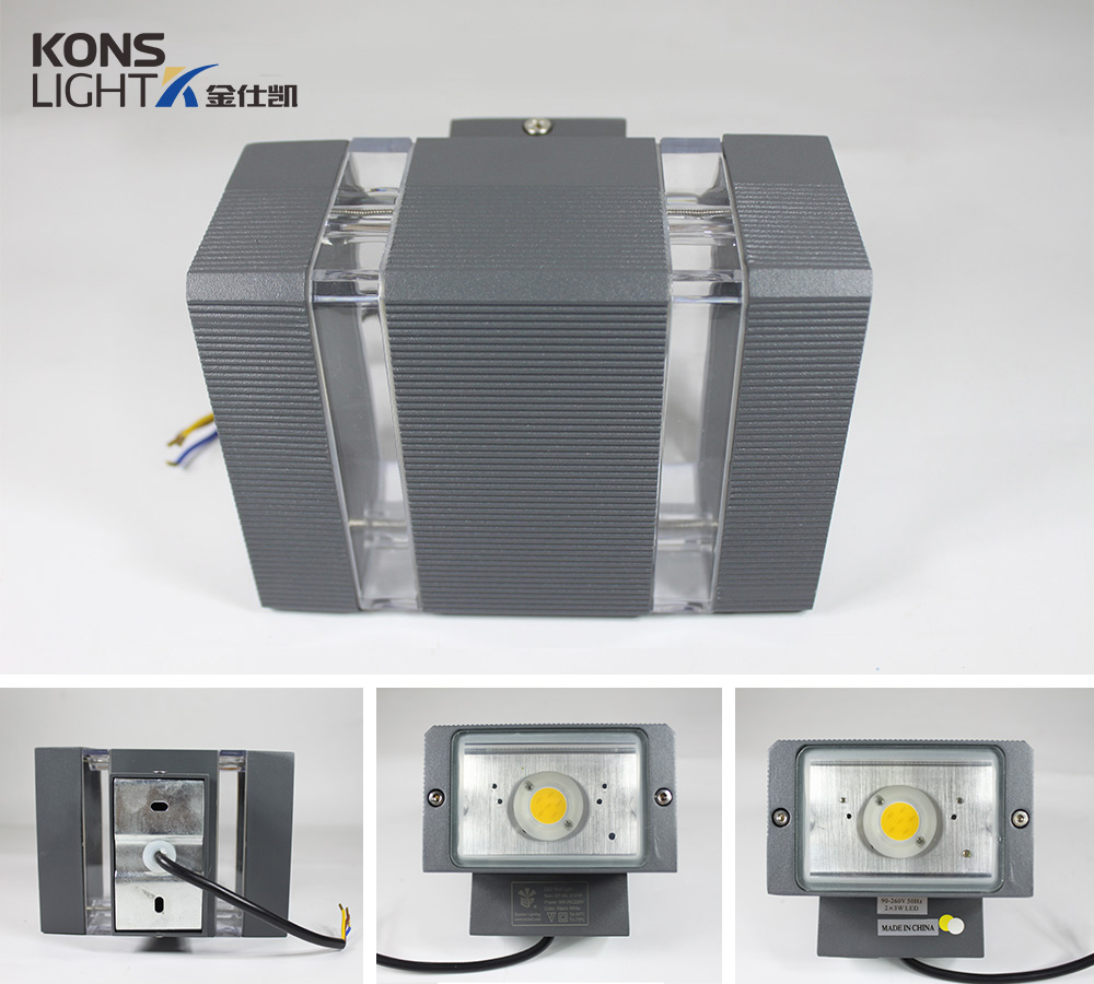 Kons-Find Led Outside Wall Lights Modern Led Wall Lights