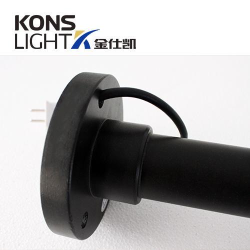 wood led lawn light aluminum pvc Kons company