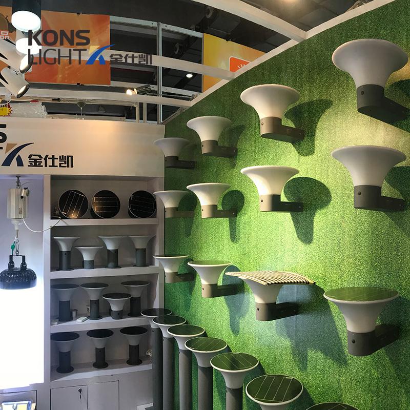 Kons-Solar Powered Lawn Lights   5w Led Solar Lawn Light 3000k6000k 267mm Inner-3