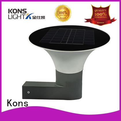 switch outdoor Kons Brand bright solar lights factory