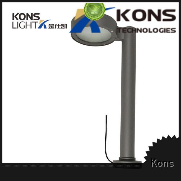 led pvc OEM led lawn light Kons