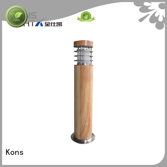 Hot ip65 garden post lights pvc Kons Brand