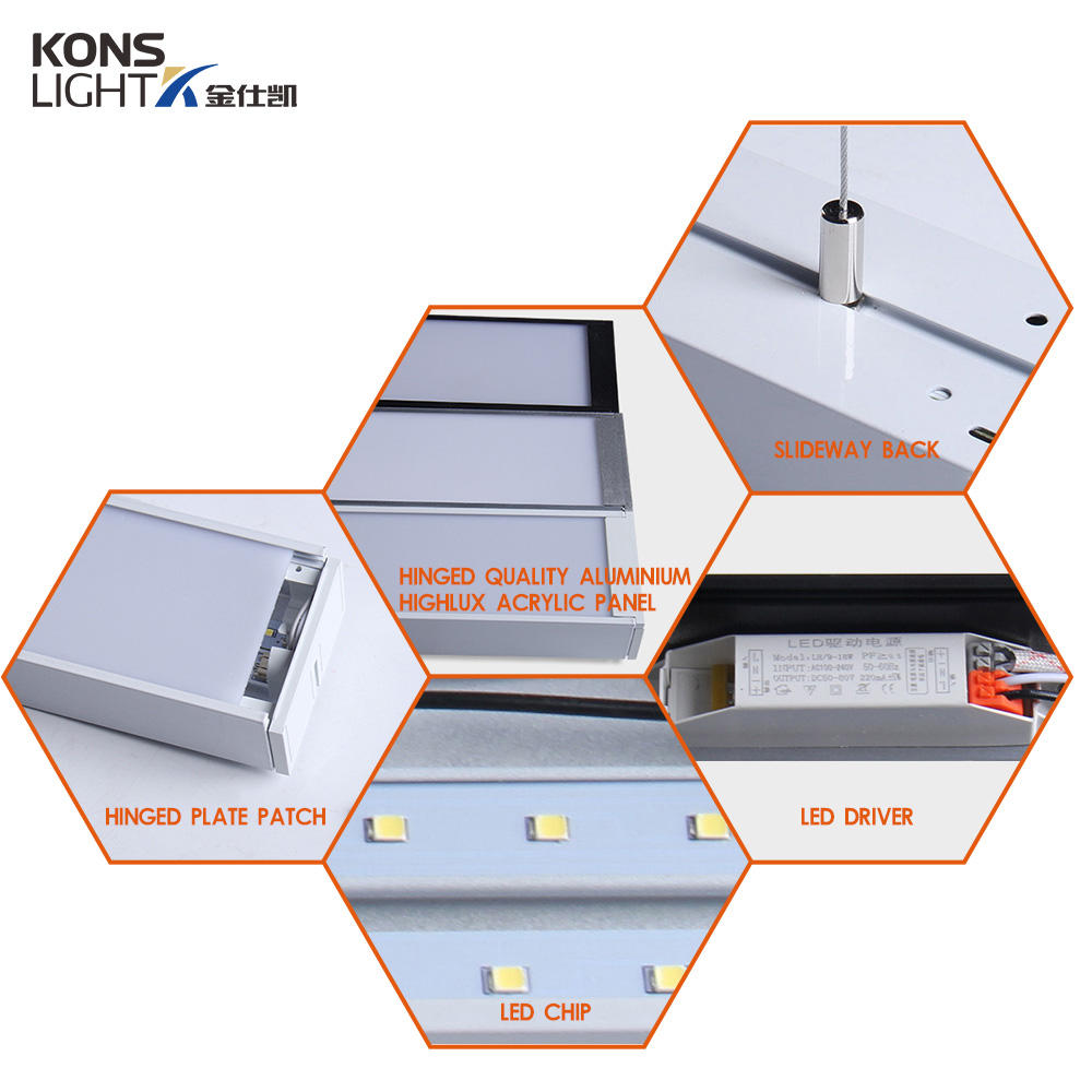 Kons-Manufacturer Of Led Surface Panel Light 9-72w Led Pendant Panel Light 3000k-6000k-2