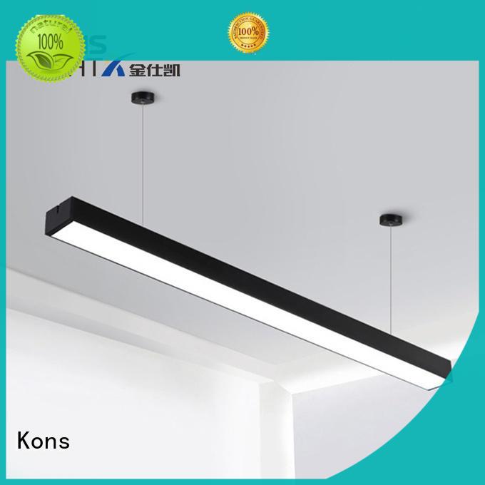 circular led pendant light square Kons company