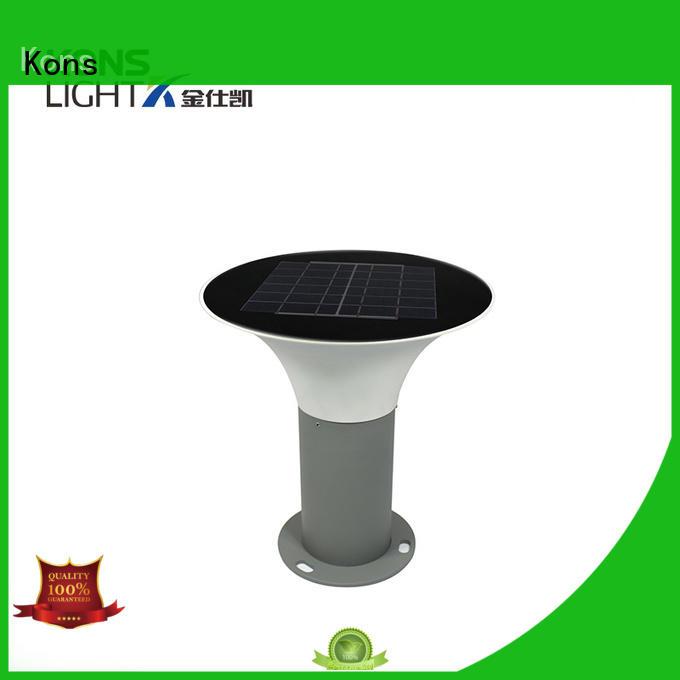 quality Custom ecological solar lawn light ip65 Kons