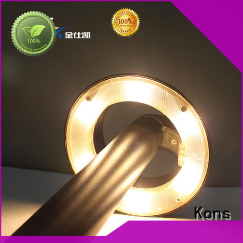 wood ip65 pvc Kons Brand garden post lights factory