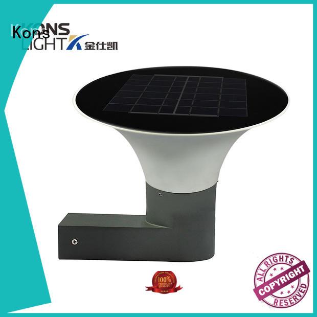 Hot led solar wall light waterproof abs Kons Brand