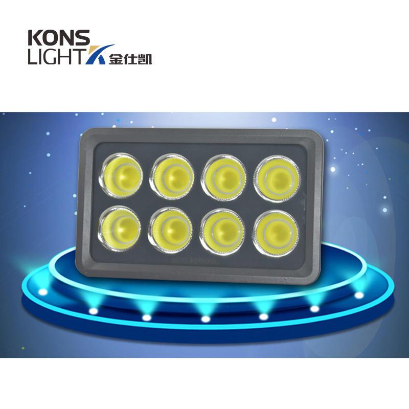 Kons-Led Cob Flood Light High Luminous 50w-600w Tempered Glass+ Aluminum 3000k-6000k