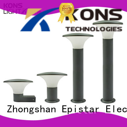 concise exterior led wall lights factory for courtyard Kons