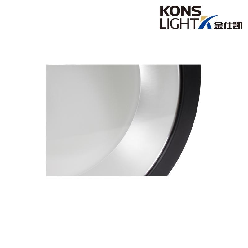 die-casting led black aluminum Kons Brand down light supplier