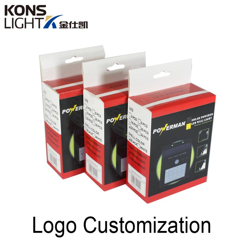 Kons-Solar Powered Wall Lights | Led Solar Wall Light Ip65 Waterproof Outdoor-1