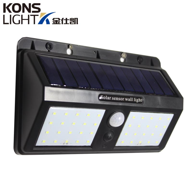 Kons-Solar Powered Wall Lights | Led Solar Wall Light Ip65 Waterproof Outdoor