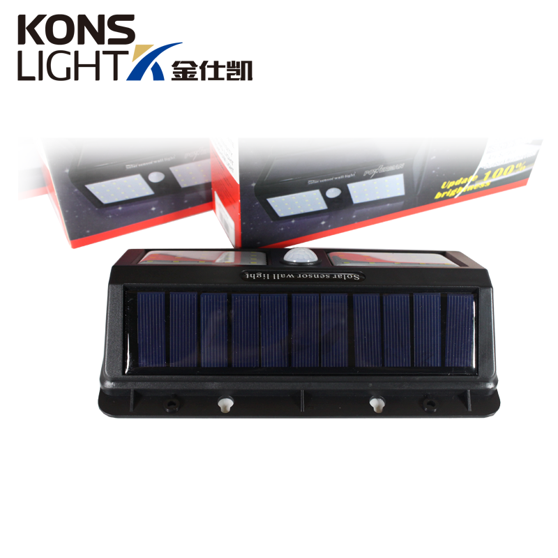 Kons-Led Solar Wall Light Ip65 Waterproof Outdoor Abs Material-2