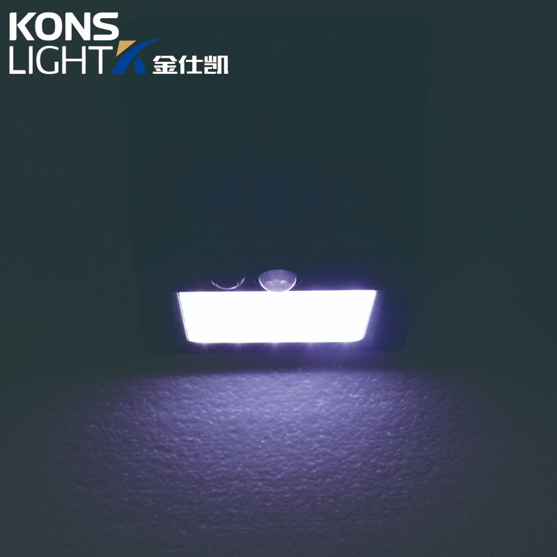 Kons-Led Solar Wall Light Ip65 Waterproof Outdoor Abs Material-4