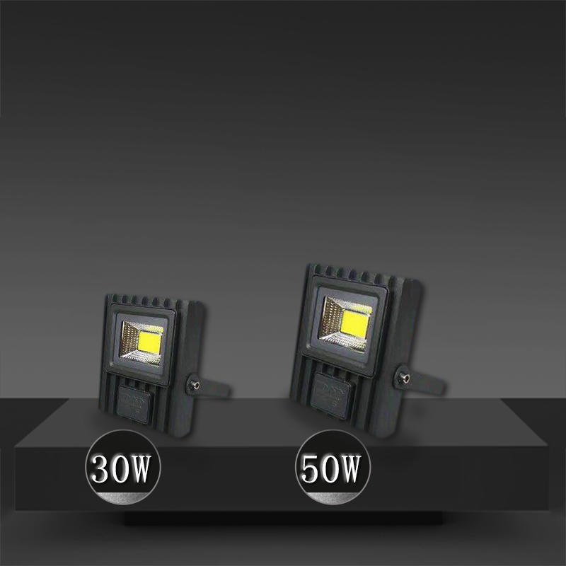 Outdoor Waterproof LED Spotlight 30W-200W Outdoor Advertising Signboard Construction Site Tunnel Plaza Lighting LED Spotlight