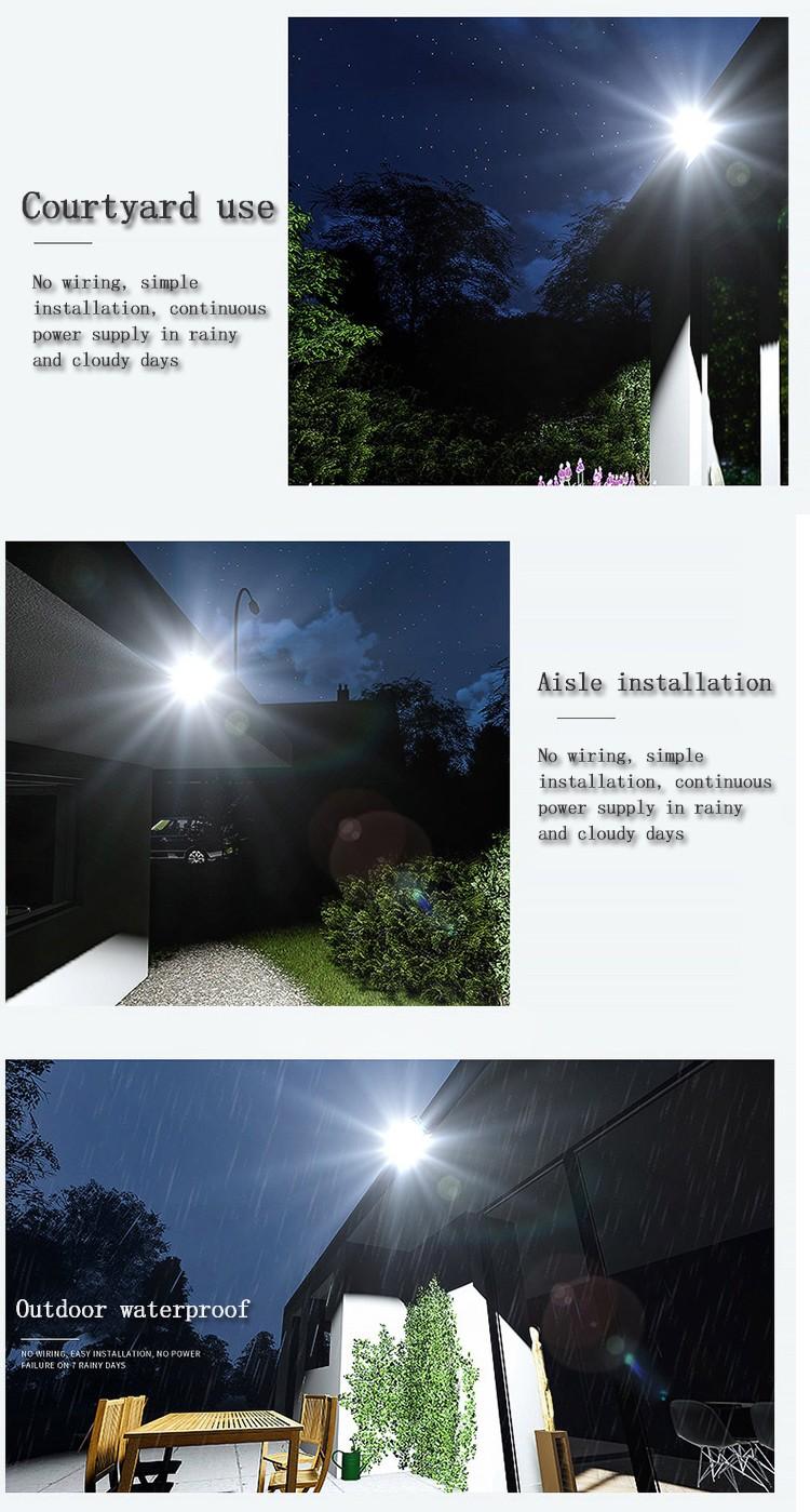 Kons-Led Landscape Flood Lights   Waterproof Solar Lamp Outdoor Spotlight 30w-90w-4