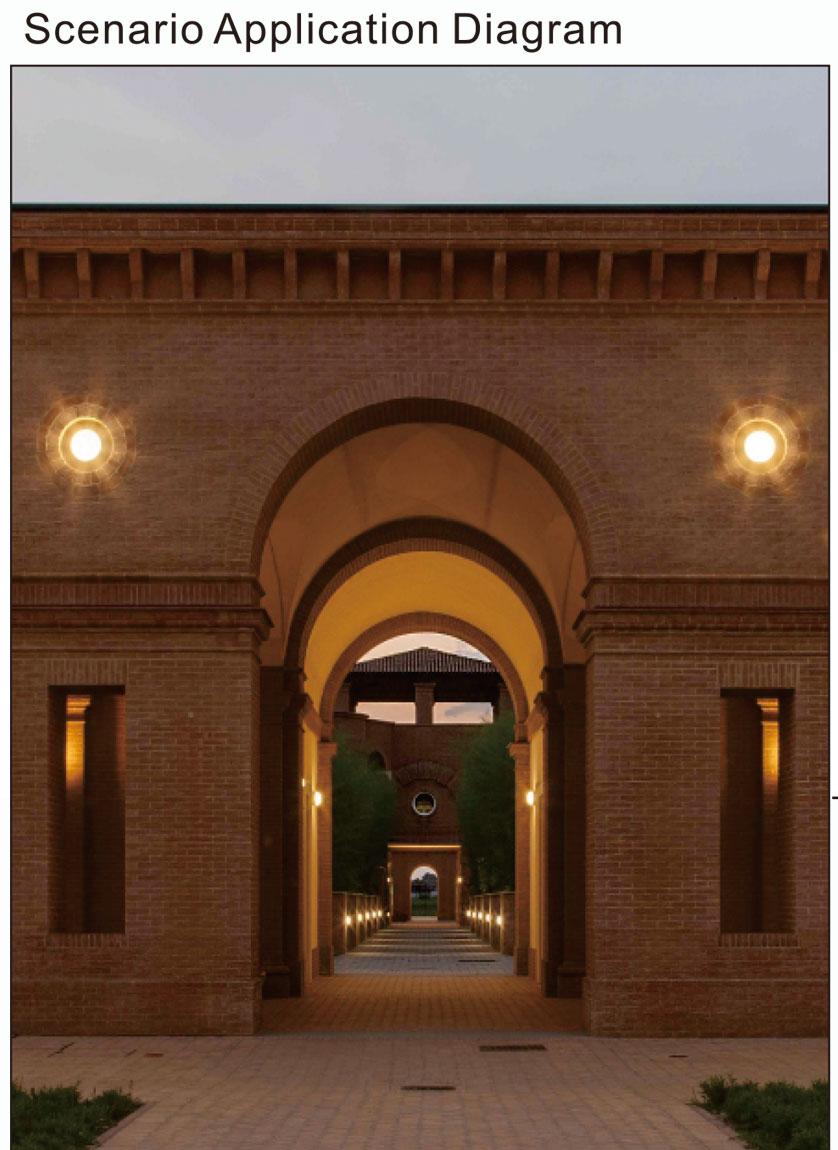 Kons-Best Led Outside Wall Lights 12w High Brightness Moisture Proof Wall Lampwarranty-2