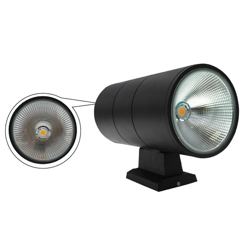 2x12W double head wall lamp warranty for 3 years