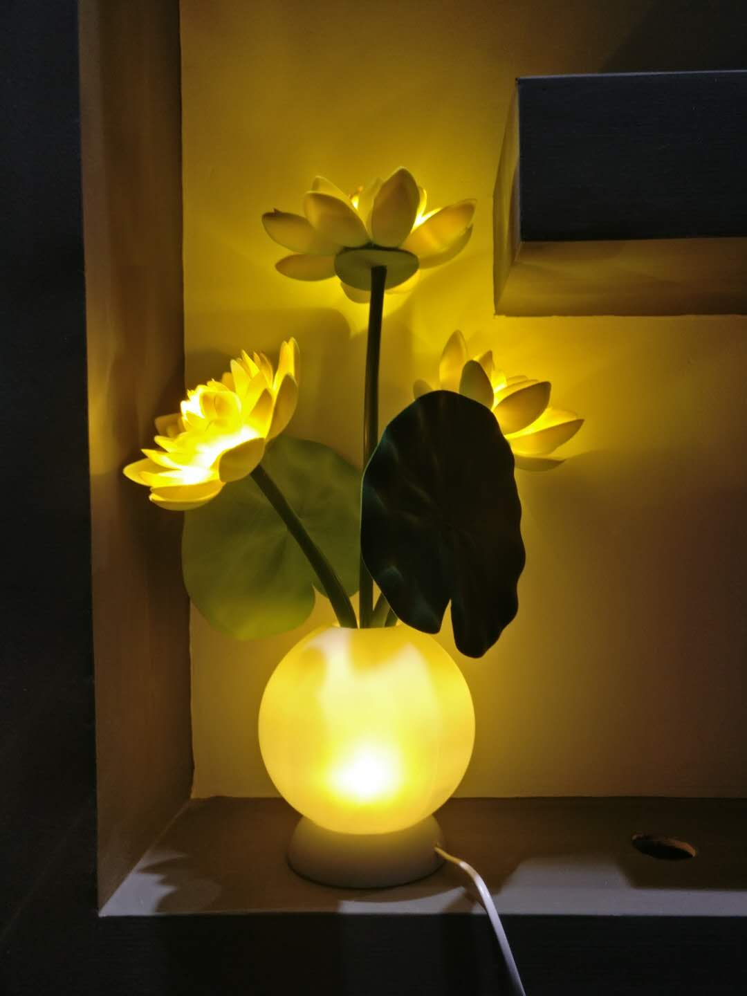 Kons-High-quality | Led Lotus Lamp 3w 50hz Warranty 3 Years-3
