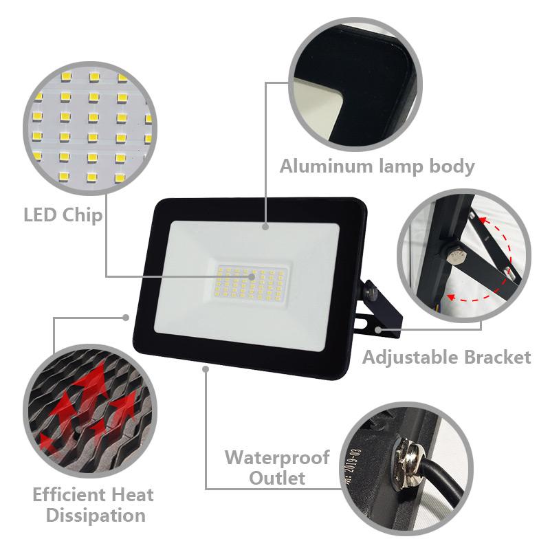 Kons-Led Flood Lamps Outdoor, Led Light Wholesale Price List | Kons-3