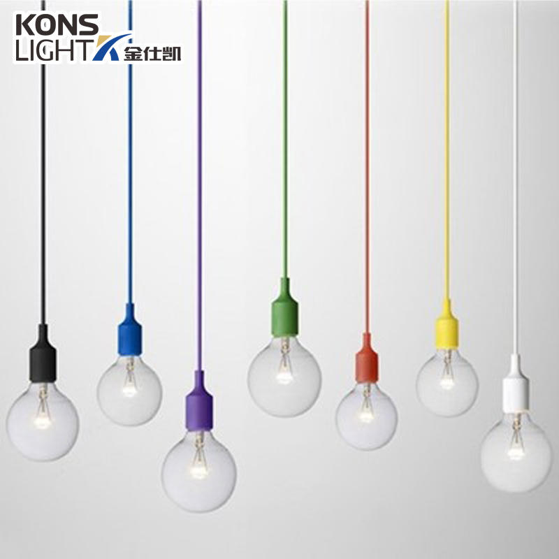LED Hanging Light Cover-Plastics+Nylon Pendant lamp Ceiling lamp