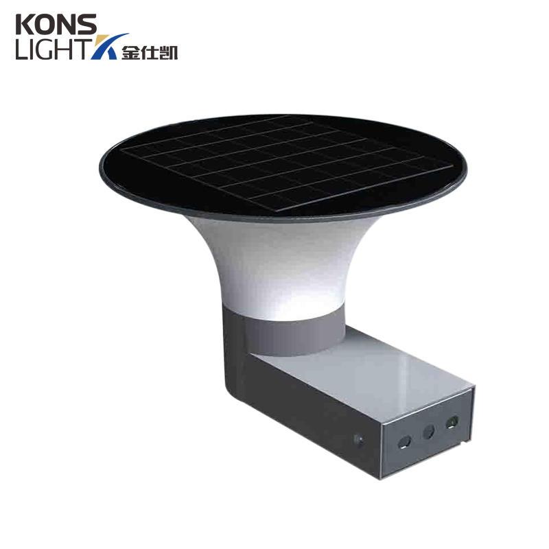 5W LED Solar Wall Light inner switch warm white/white Energy-saving 190mm