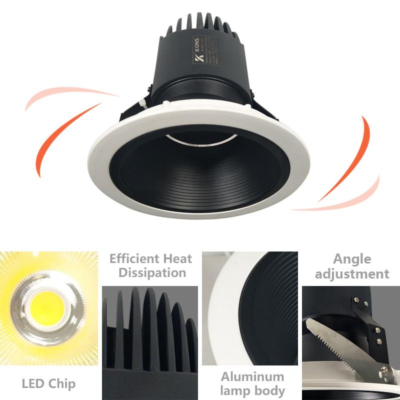 Kons-Wholesale Down Light Manufacturer, Surface Mounted Downlight | Kons-1