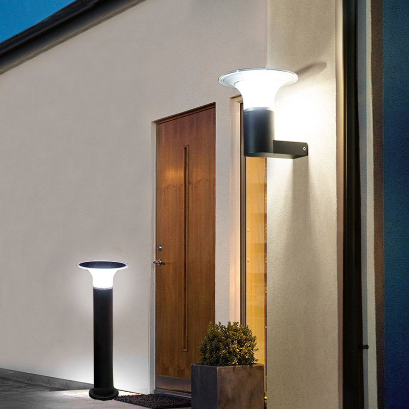 Kons-Manufacturer Of 5w Led Solar Wall Light Inner Switch Warm White-3