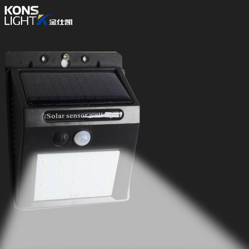 Kons-Best Solar Powered Wall Lights Led Solar Wall Light Ip65 Waterproof Outdoor-1
