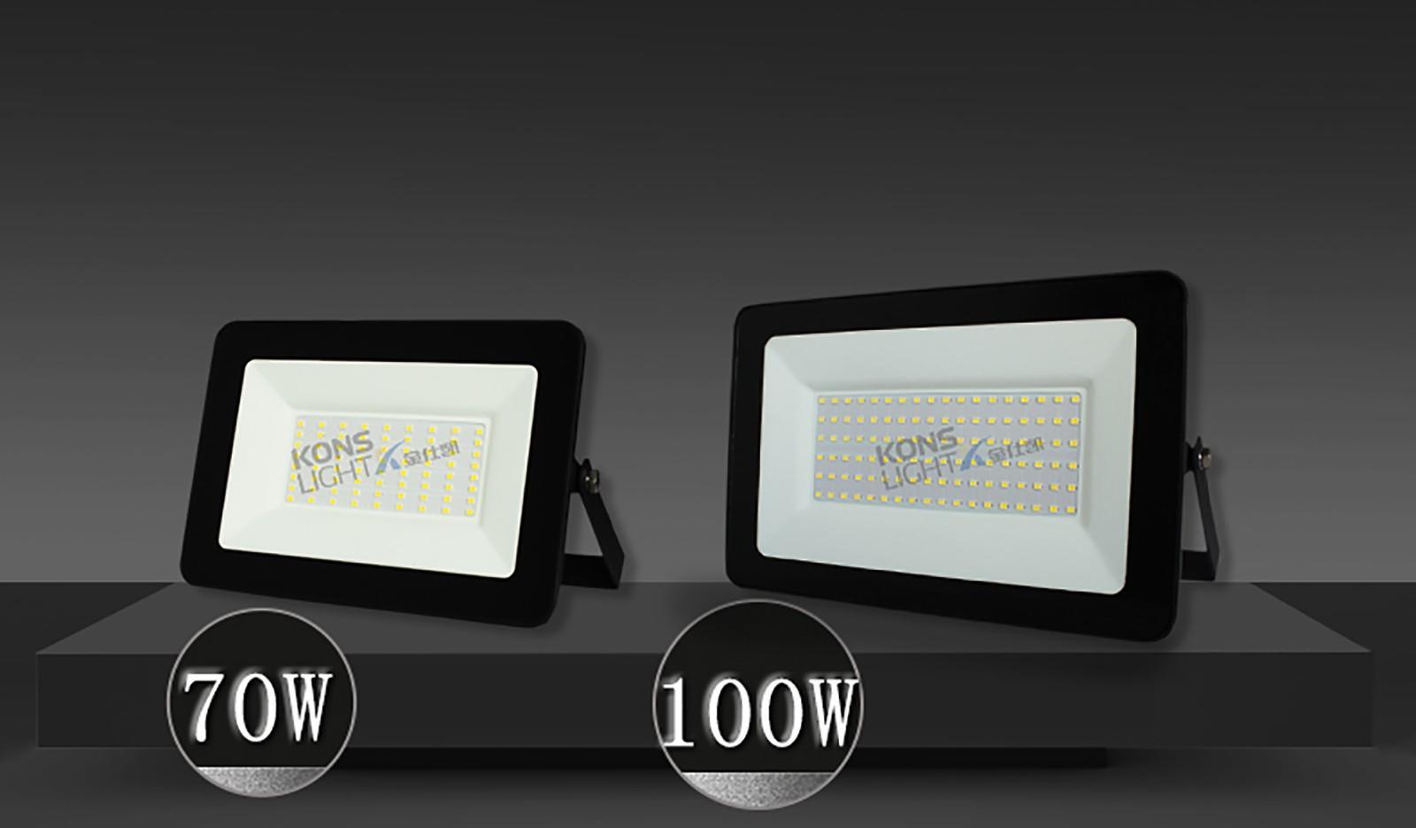 Kons-Led Light Supplier Led Flood Light 10w-300w 3000k-5700k Uv Resistance-2