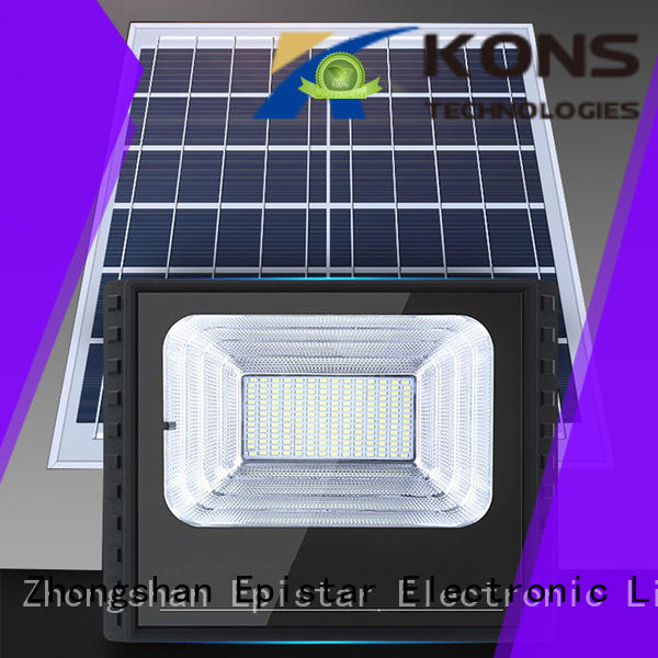 Kons long service life solar powered floodlights indoor for building facade