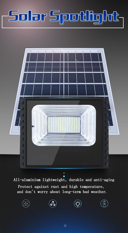 Kons-Led Landscape Flood Lights   Waterproof Solar Lamp Outdoor Spotlight 30w-90w