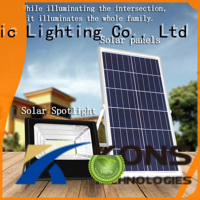 long service life solar powered motion lights factory for leisure stadium Kons