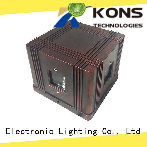 Kons glass led garden wall lights manufacturer for outdoor wall