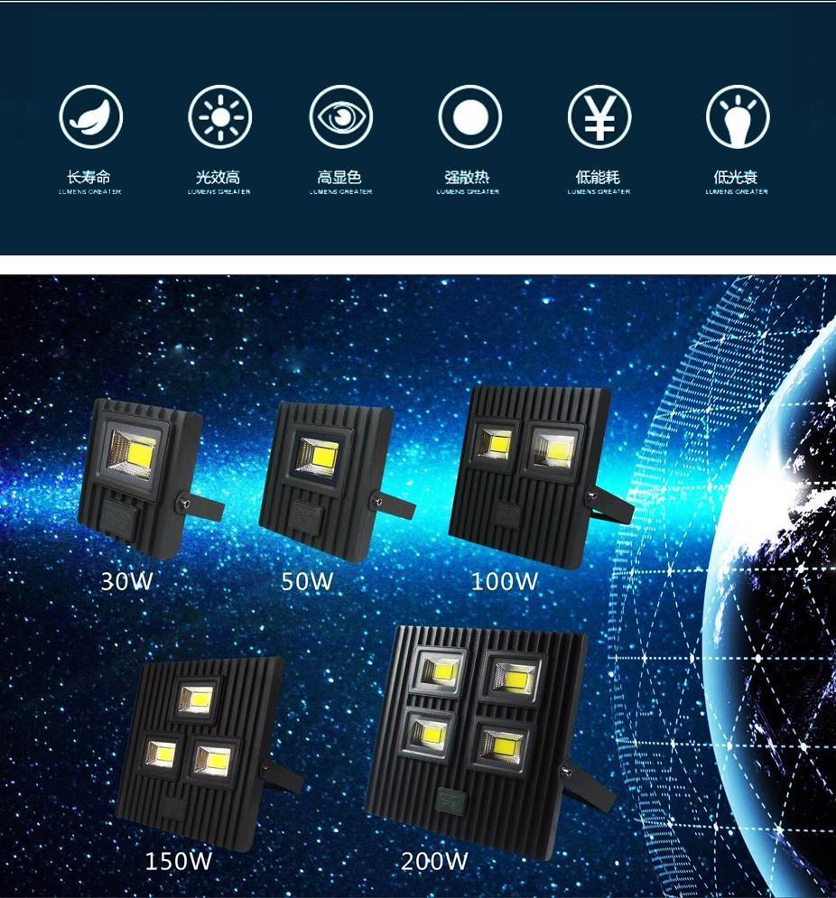 Kons-Find Led Area Flood Lights Led Light Wholesale From Epistar Electronic Lighting-1