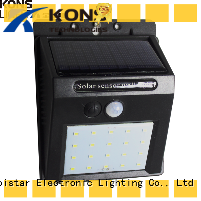 4w solar powered wall lights light for new energy Kons