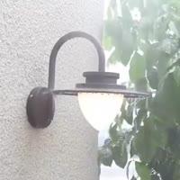 Outdoor LED Wall Light Concise Design Aluminum Housing & PC High Luminous